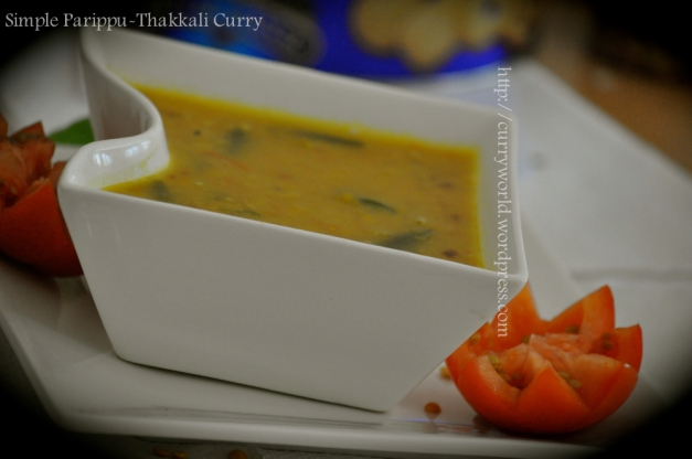 Dal-Tomato Curry