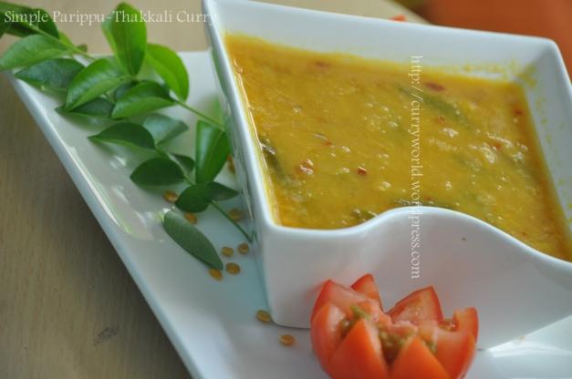 Dal-Tomato Curry