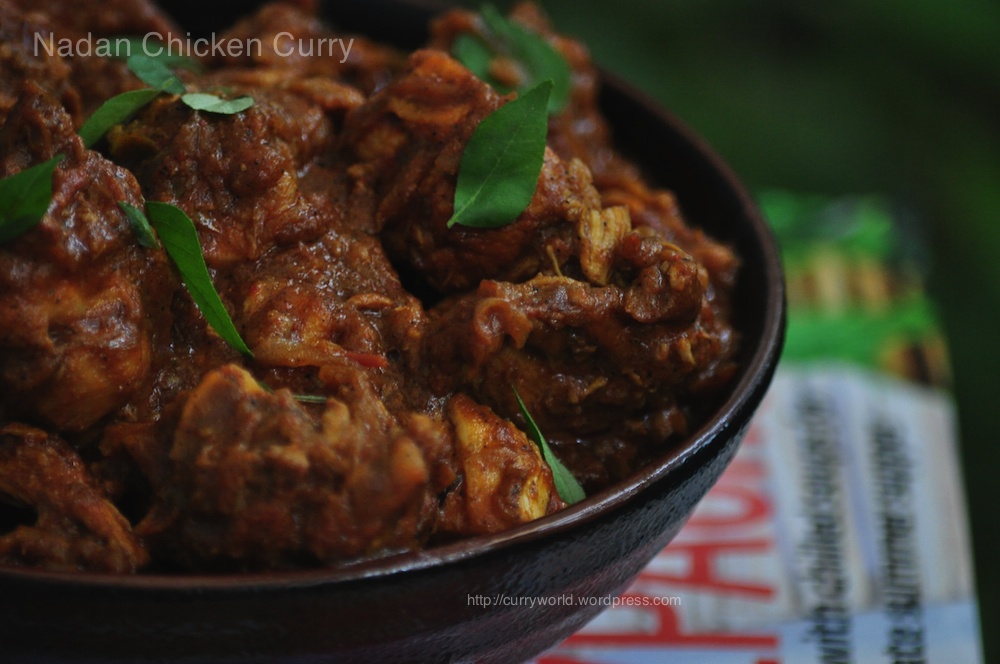 Chicken Curry Recipe Kerala Style Easy\x26amp;spicy \x3cb\x3ekerala ...