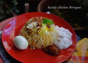 Kerala Chicken Biriyani