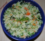 Cabbage-Carrot-Beans Poriyal