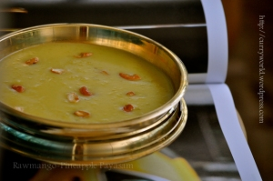 pachamanga pineapple payasam