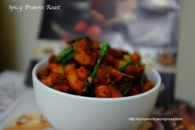 Spicy Prawns Roast