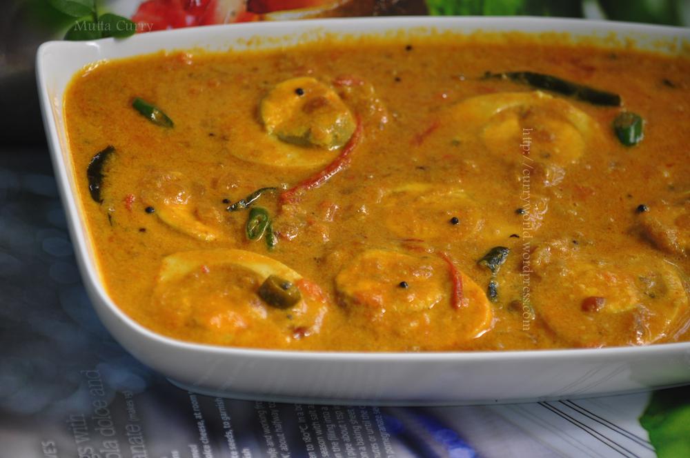 Egg Curry Using Coconut Milk/Mutta curry | Curryworld