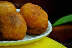 bread potato bonda