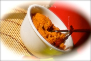 TOMATO ONION COCONUT CHUTNEY