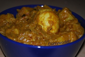 egg-potato masala