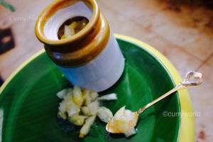 Curry Naranga Achar