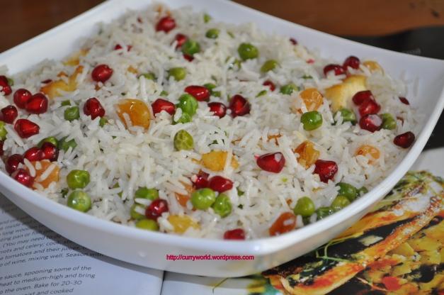 Peas-Paneer Pulav
