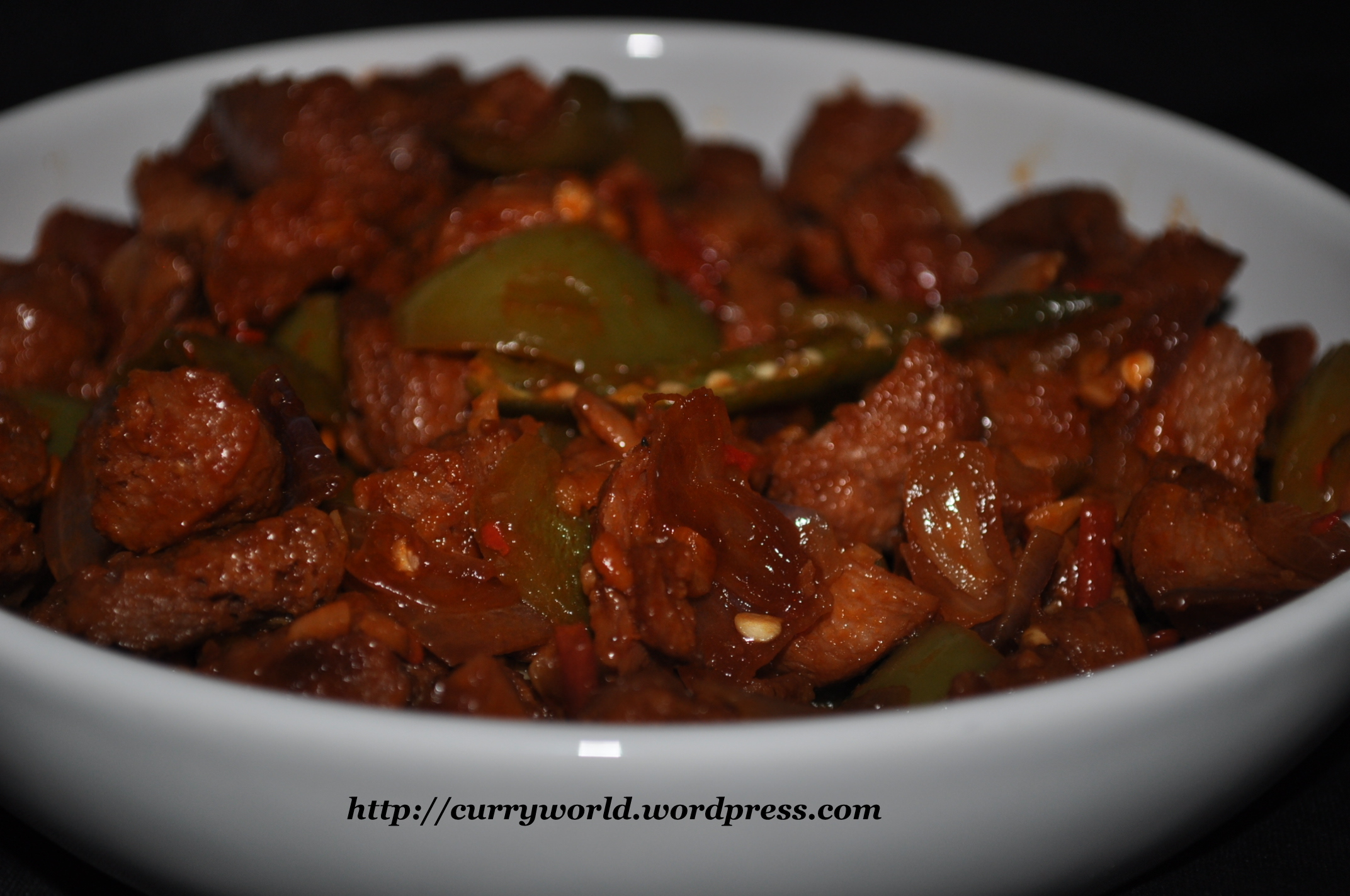 Chilly soya chunks meal maker dry and gravy recipes curryworld dry type forumfinder Choice Image