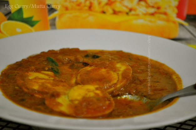 Nadan mutta/egg curry