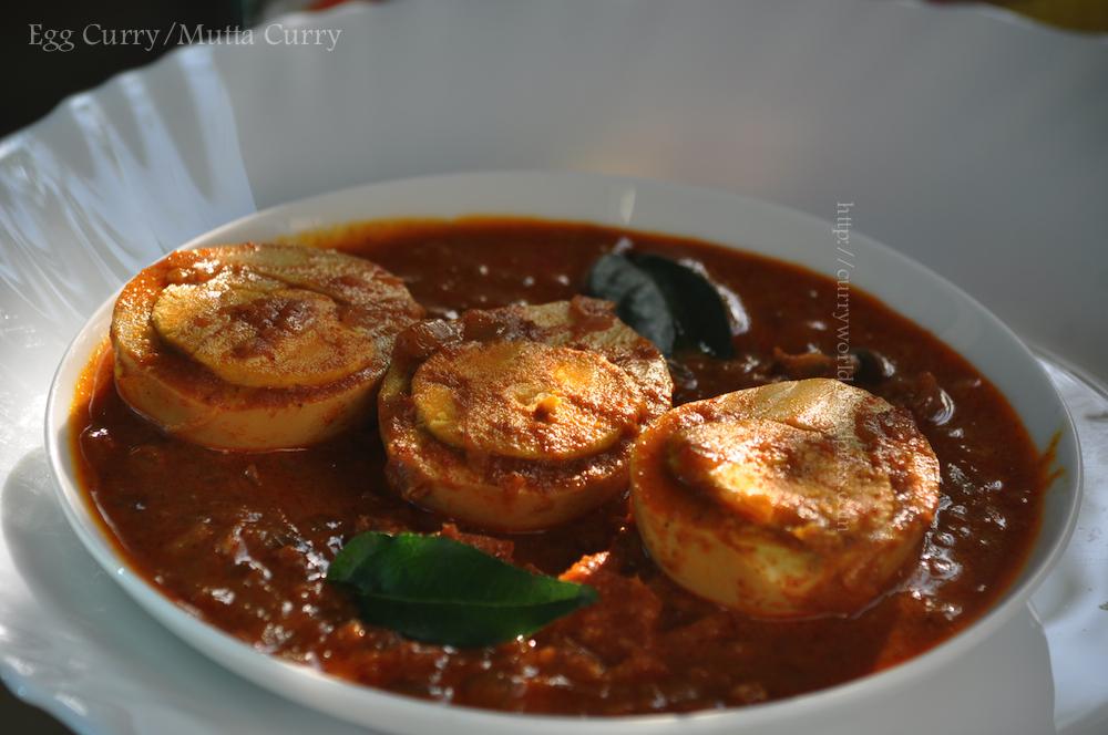 Nadan Mutta Egg Curry