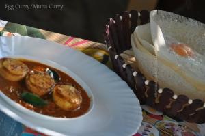 Nadan palaappam d mutta curry