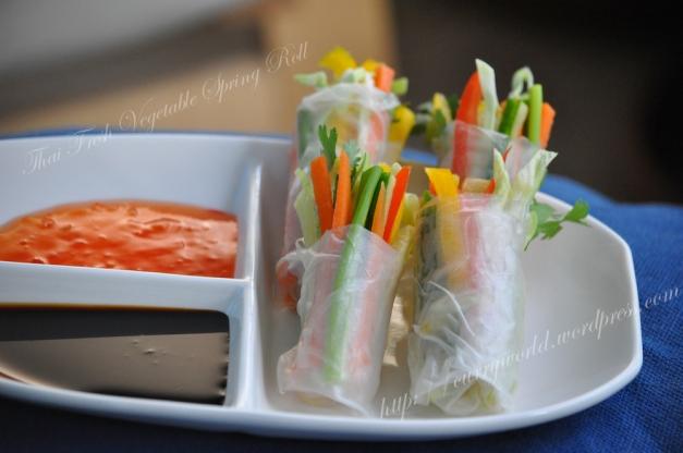 Thai Veg Spring Roll