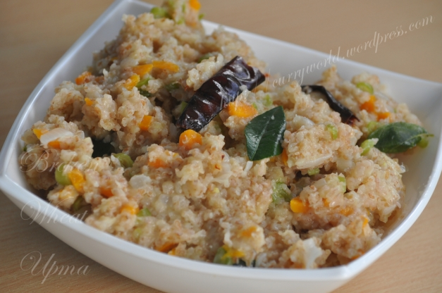 Broken Wheat Upma