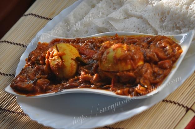 Neer Dosa & Egg Roast