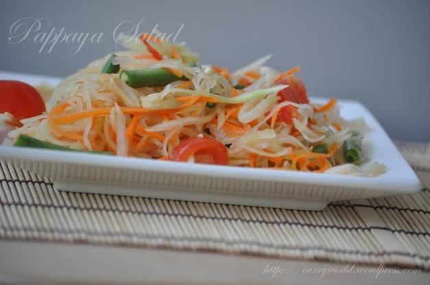Thai Papaya Salad/Som Tum