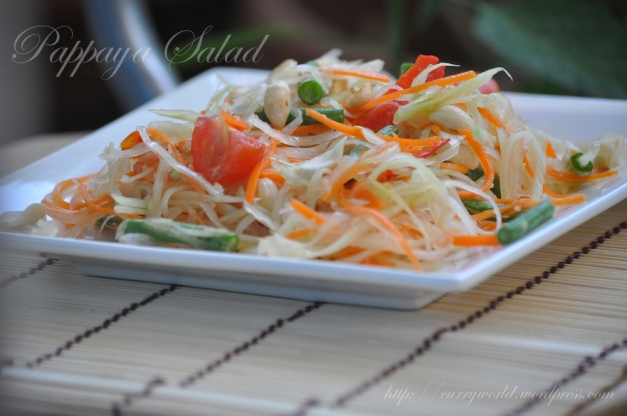 Thai Papaya Salad/Som Tum