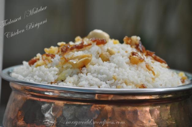 Thalaserri /Malabar Dum Biriyani