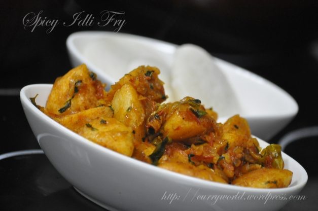 Spicy Idli Fry