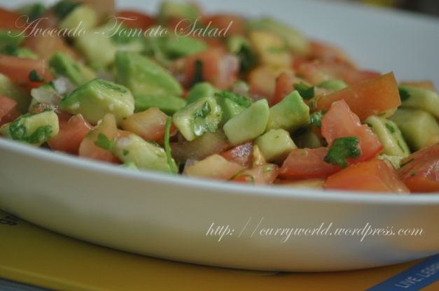 Avocado-Tomato Salad