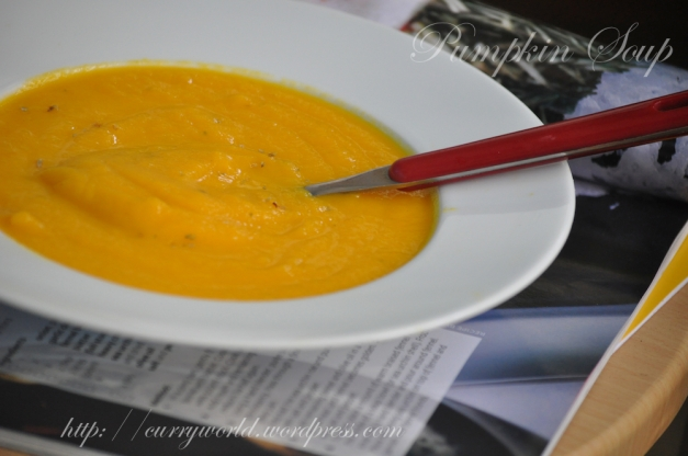 Pumpkin Carrot Soup