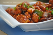 Soya-Babycorn Manchurian