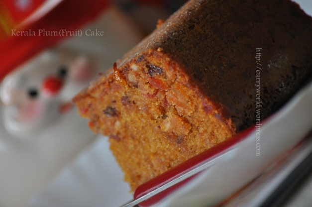 Kerala Fruit (Plum) Cake