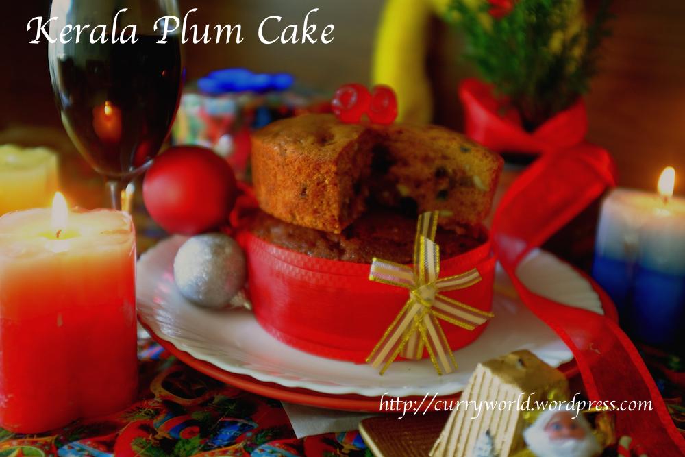 Authentic Kerala Plum Cake Recipe