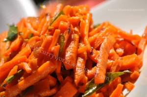 Carrot Mezhukkupuratti