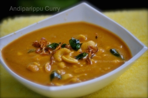 cashewnut curry