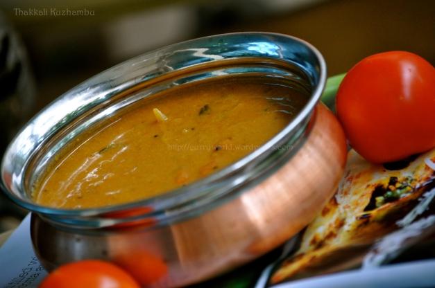 tomato gravy southindian style