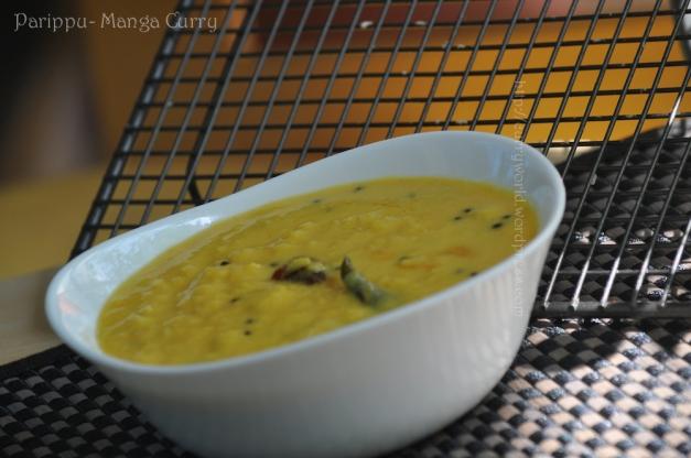 parippu manga curry