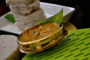 Andiparippu curry