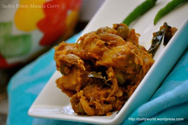 potato-peas masala