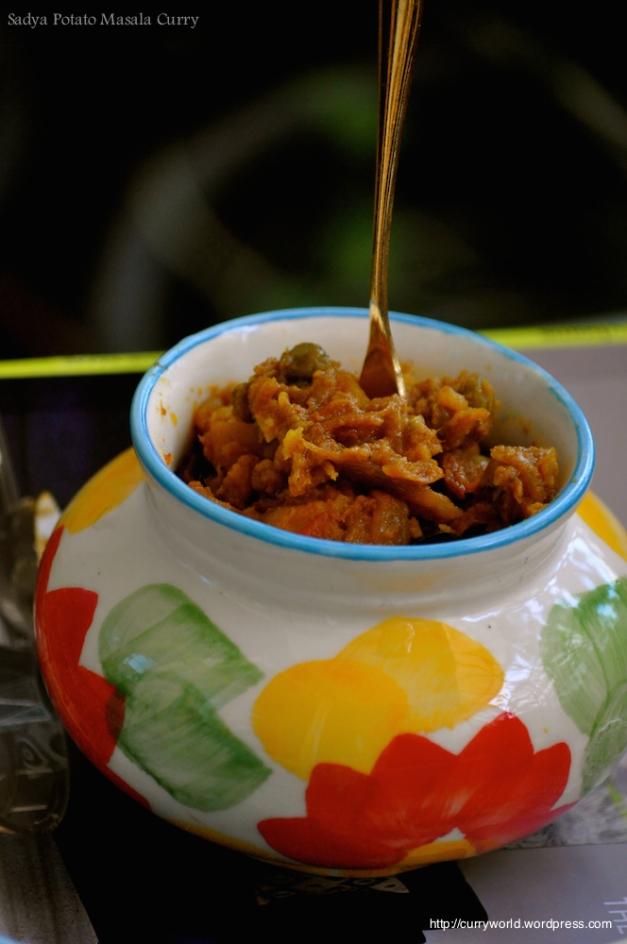 potato peas masala