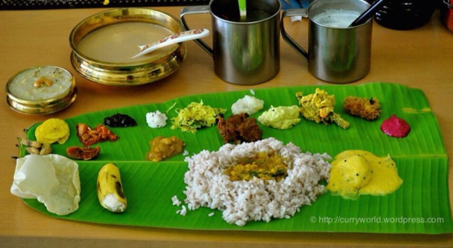 Complete Onam Sadya Menu Curryworld