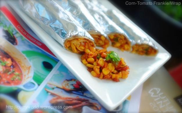 corn -tomato roll