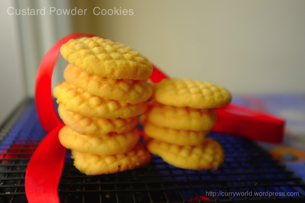 how to make custard cookies recipe
