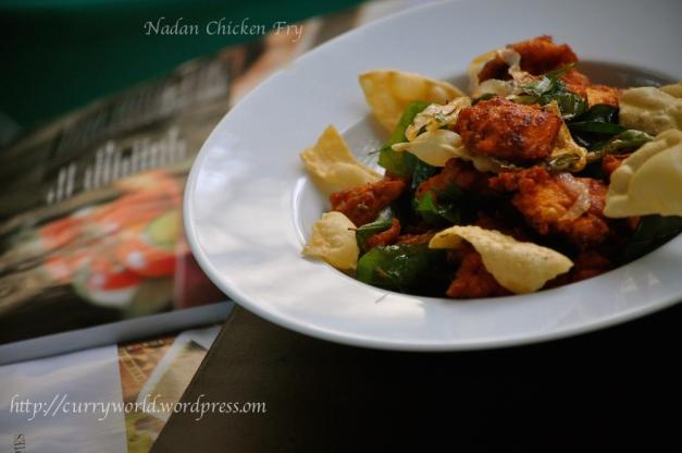 Nadan Chicken Fry