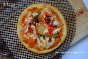 Pizza Pizza Vegetariana