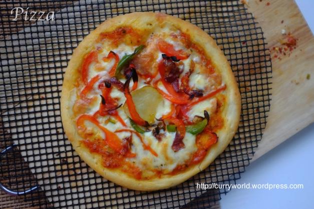 Pizza Pizza Vegetariana