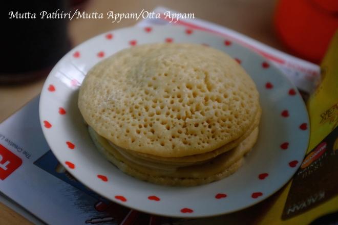 Mutta appam /kerala pancake