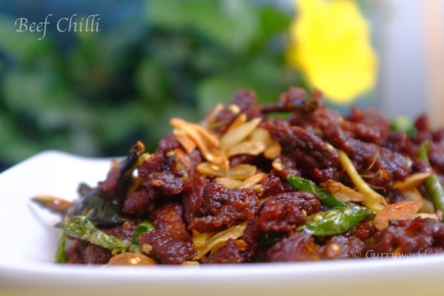 chilli beef/beef chilli