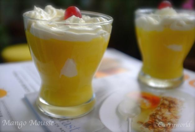 Mango Mousse