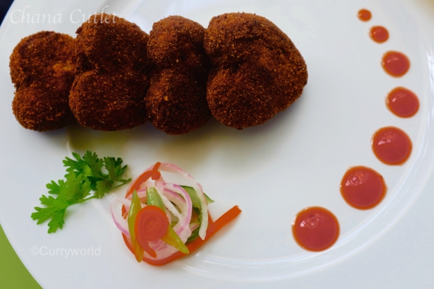 chana cutlet