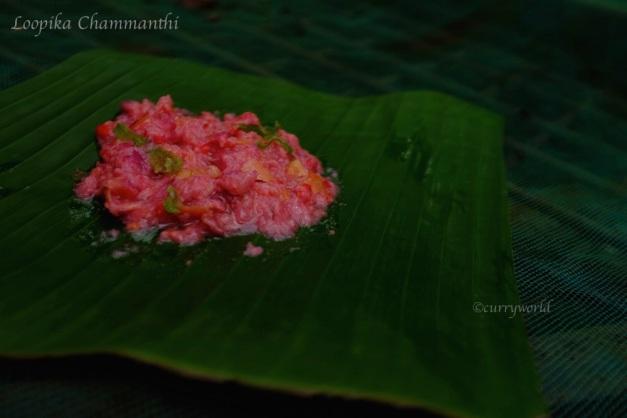 loobikka chammanthi