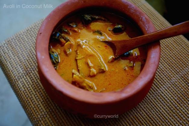 Avon (pomfret) curry