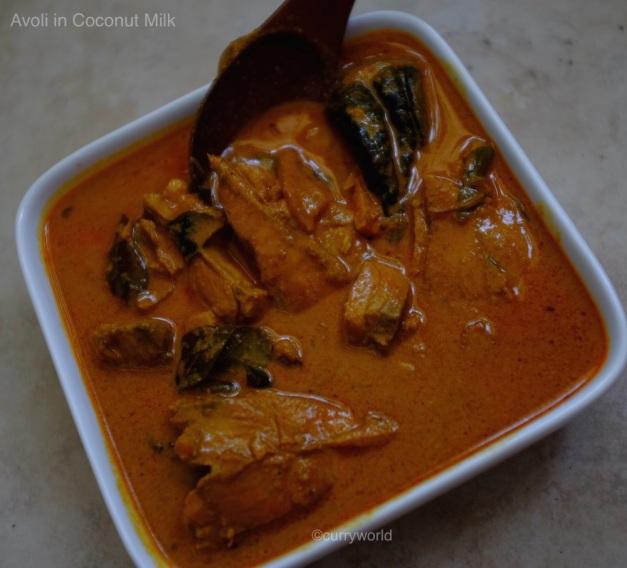 Avoli meen curry