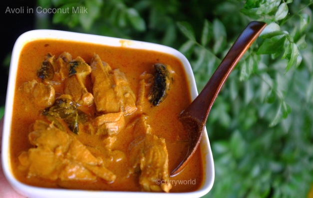 Avoli fish curry